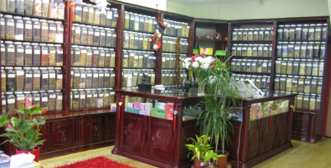 Image of herb store